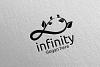 Green Infinity loop logo Design 33 example image 4