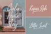 Glossy Night - Luxury Handbrush Font example image 5