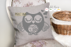 Owl SVG / EPS / DXF / PNG files example image 2