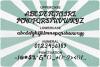 Gantry - retro bold script font example image 8