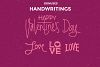 Valentine's Day Love Signs Cutting File SVG example image 5