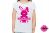 Split Bunny - SVG, DXF, EPS Cut File example image 2