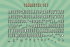Bondie Extrude Font Family example image 4