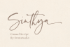 Sinthya - Casual Script Font example image 1