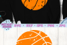 Distressed basketball svg, basketball clipart example image 2