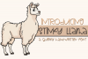 Stinky Llama - A Quirky Hand-Written Font example image 1