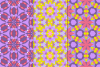 12 Kaleidoscope Seamless Patterns example image 3