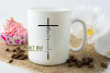 Jesus loves me and you SVG / PNG / EPS / DXF files example image 2