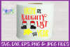 Urine the Naughty List SVG - Christmas Toilet Paper Design example image 2