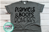 Flannels boots and bonfires svg,fall svg,bonfire svg,fall example image 1