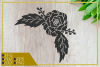 Rose Flower svg, single flower, instant download, cut file example image 2