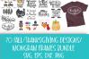 Fall, Pumpkin, Halloween, SVG, PNG, Thanksgiving Bundle, example image 3