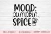 Mood Pumpkin Spice - PNG, JPG example image 1
