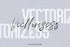 Worthness SVG Brush Font Free Sans example image 4