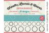 FLORAL MEGA BUNDLE 30 wreath, laurel, heart leaf frames SVG example image 1