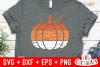 Distressed Pumpkin | Autumn | Fall cut File example image 1