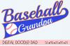 Baseball Grandpa SVG | Silhouette and Cricut Cut File example image 1