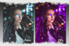 Neon preset lightroom mobile pc instagram effects filter example image 5