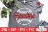 Baseball Grandma | Softball Grandma | SVG Cut File example image 1