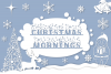 Christmas Mornings | Winter & Christmas Font with Extras example image 1