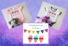 Faux Applique Trio Polka Dots Ice Cream Cones Clipart example image 3