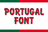 Portugal Font example image 1