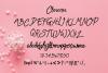Dara Hand Written Type Face example image 4