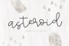 Asteroid - Handwritten Script Font example image 1