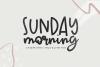 Sunday Morning - A Handwritten Script Font example image 1