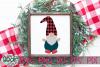 Buffalo Plaid Hat Gnome - A Gnome SVG example image 2