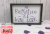 My Birthstone Is A Wine Cork SVG DXF EPS PNG example image 3