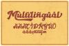 Gantry - retro bold script font example image 7