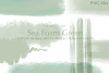 26 Sea Foam Green Brush Strokes and Abstract Pattern Element example image 3