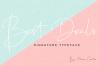 Best Deals | Signature Typeface example image 12