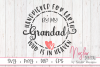 Handpicked for Earth by my Grandad Who is in Heaven SVG example image 1
