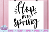 Hop into Spring SVG example image 1