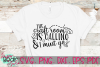 The Craft Room Is Calling & I Must Go - A Craft SVG example image 1