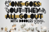 One Goes Out They All Go Out | A Holiday Font with Doodles example image 1