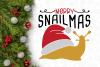 Snail Merry SnailMas Svg Design example image 2