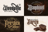 Hijrah - Blackletter Typeface example image 3