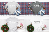 Winter Tshirt Mockup Bundle Bella Canvas 3001 3005 3501 3719 example image 7
