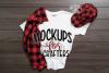 White Gildan Tshirt for children, Mock-up, example image 1
