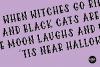 HALLOWEEN FONT BUNDLE - 4 .OTF Font Familes example image 8