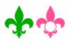 Fleur de lis svg example image 1