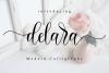 Delara Script example image 1