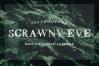 Scrawny Eve - Hand Lettered Serif Typeface example image 5
