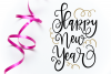 New Year SVG Bundle- Hand-lettered - 11 SVG Cut Files example image 9