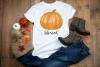 Fall Autumn Sublimation Bundle Watercolor Pumpkins Clipart example image 2