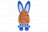 Basketball Bunny - Easter SVG, DXF, AI, EPS, PNG, JPEG example image 3
