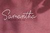 Violitta Signature typeface example image 2